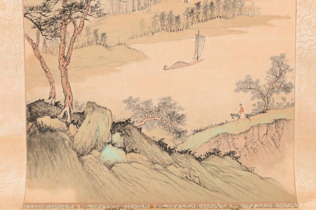 Yang Shi Lang (1915-2000) Scroll depicting a - 2