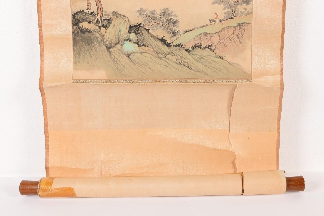 Yang Shi Lang (1915-2000) Scroll depicting a - 3
