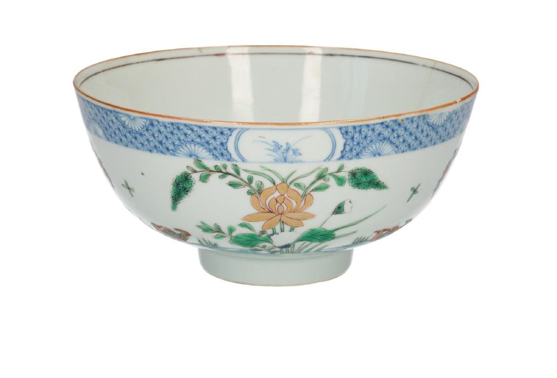 A doucai porcelain bowl, decorated with water birds and - 3