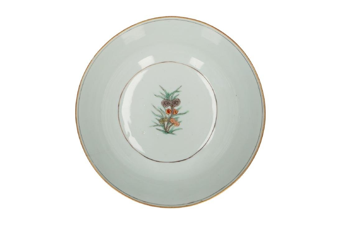 A doucai porcelain bowl, decorated with water birds and - 4