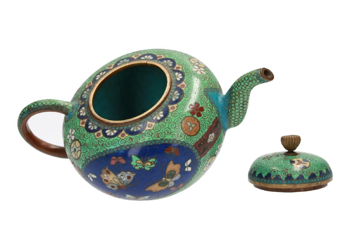 A diverse lot of 11 items, including a cloisonné - 3