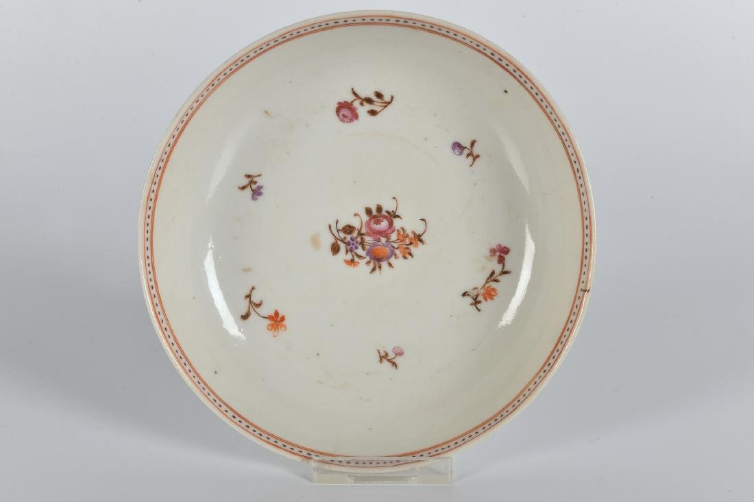 A lot of ca. 52 Lowestoft style porcelain items with - 7