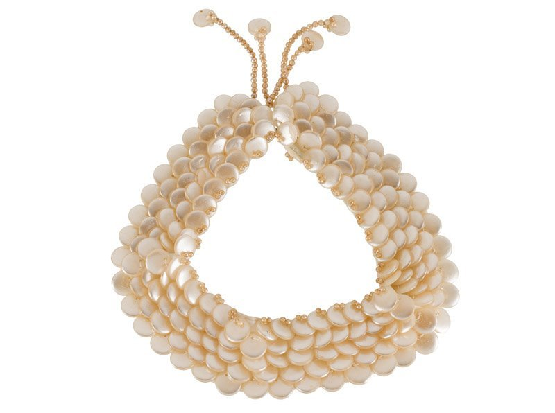 An Anonymous, lot various; 1) faux pearls collar