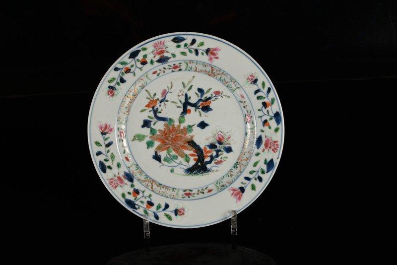 A various lot of ca. 15 porcelain items incl. plates - 5
