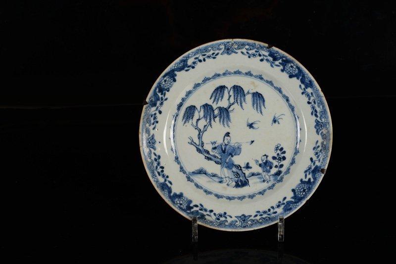 A various lot of ca. 15 porcelain items incl. plates - 7