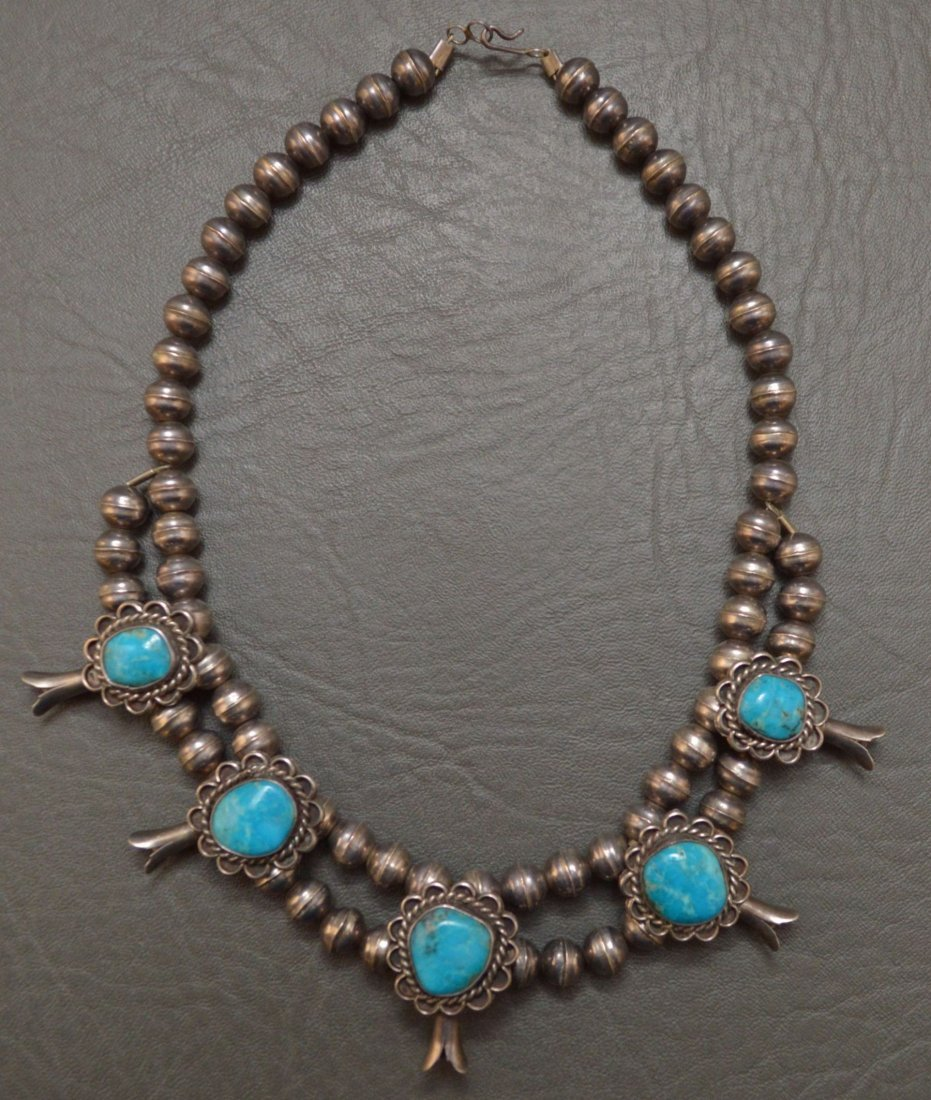 NAVAJO BLOSSOM CHOCKER/NECKLACE