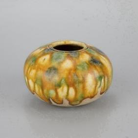 Chinese Tangsancai Pottery Water Pot
