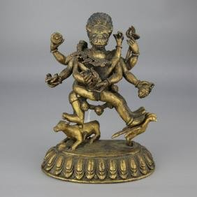Tibet Yamantaka Vajrobhairava