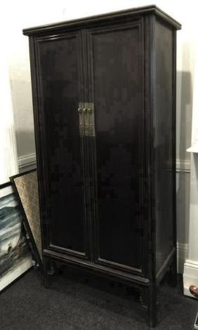 A Large Antique Chinese Cabinet