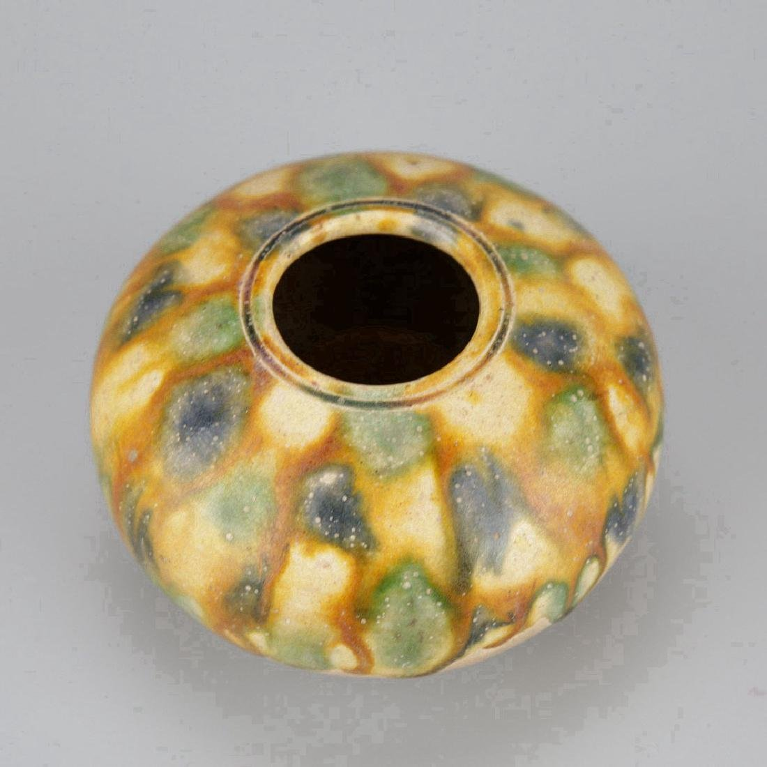 Chinese Tangsancai Pottery Water Pot - 3