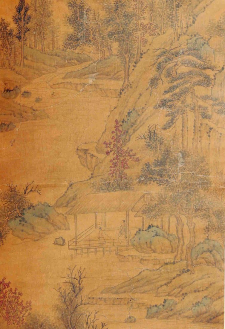Chinese  Scroll Painting  Attributed to Wen Zhengming - 3