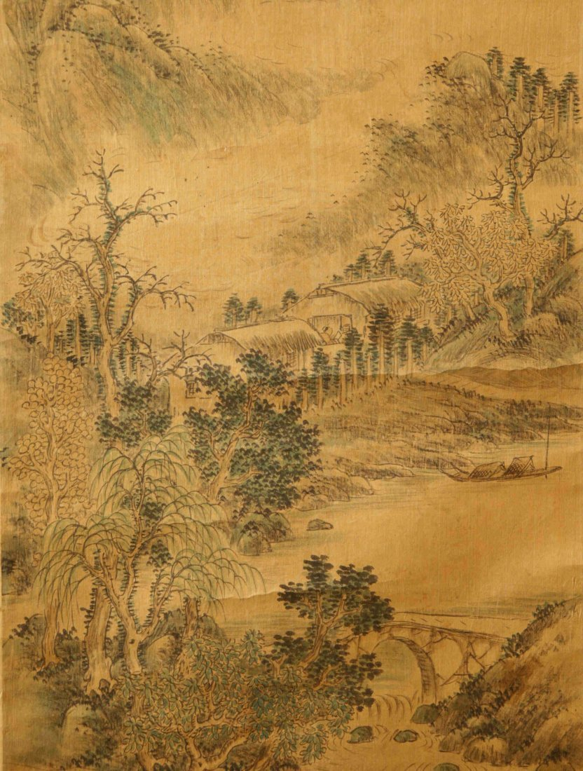Chinese Scroll Painting Attributed to Wang Jian - 3