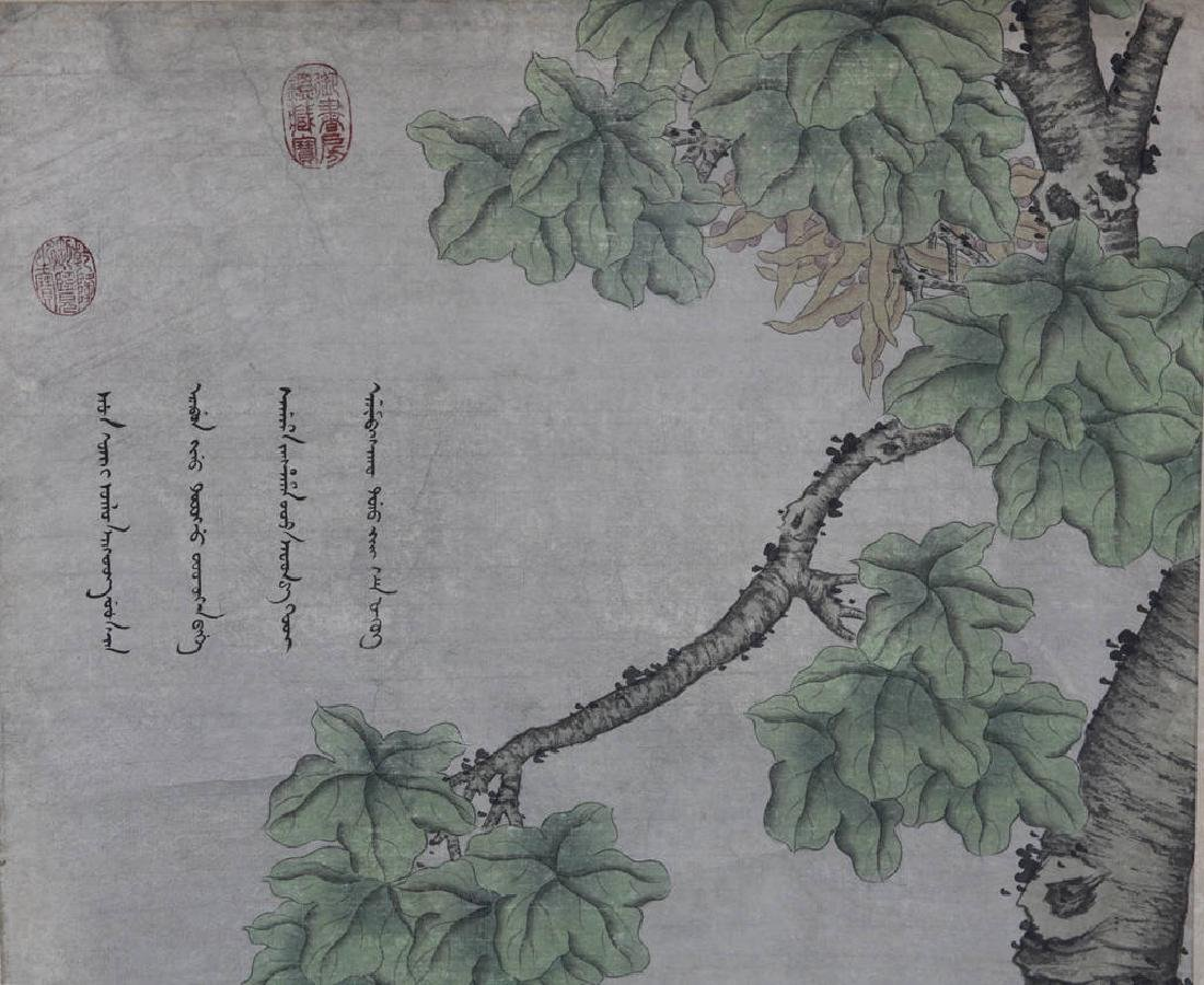 Chinese Scroll Painting Attributed to Lang Shining - 2