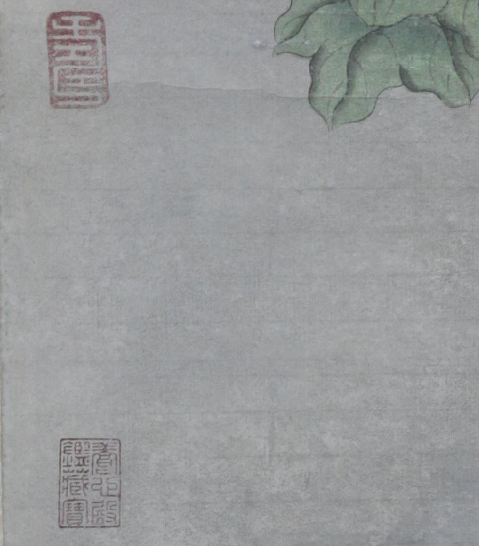 Chinese Scroll Painting Attributed to Lang Shining - 5