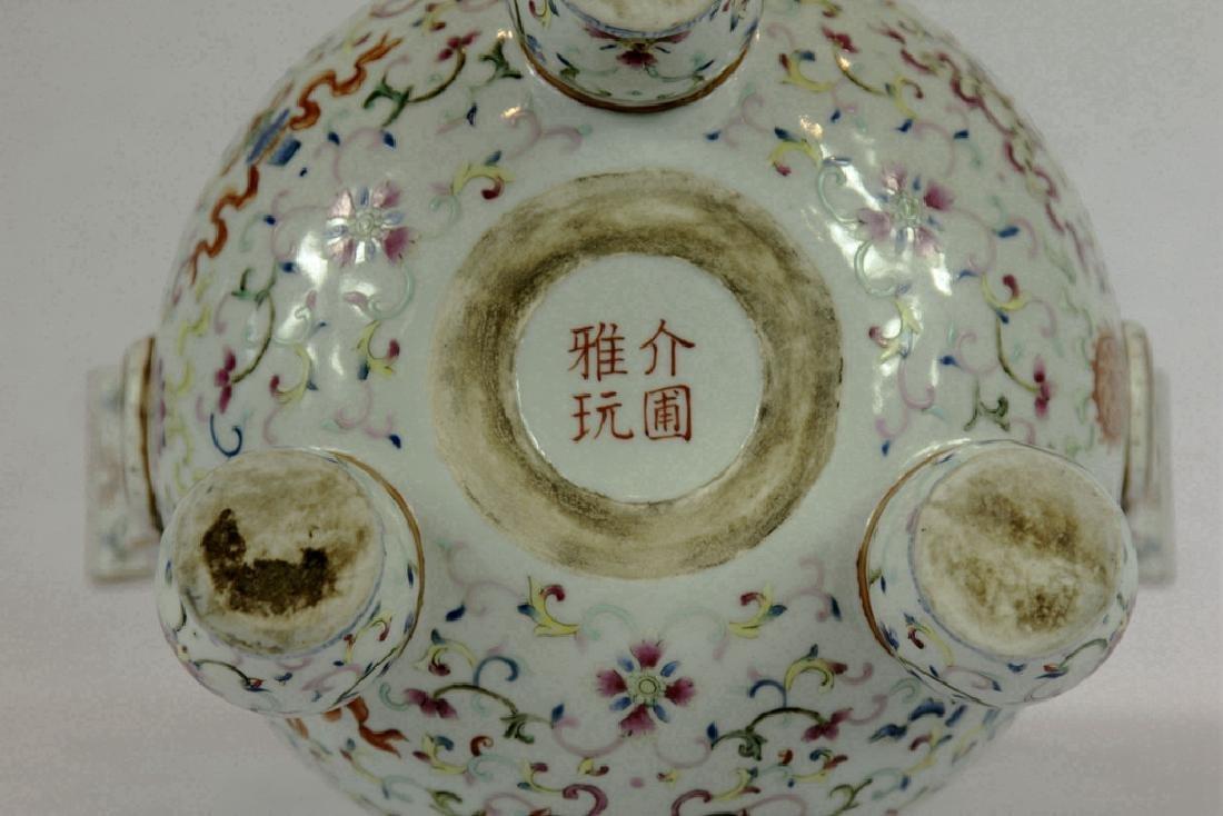 Chinese Tripod Porcelain Censer - 3