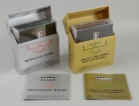 Oasis - Promotional silver & gold single box cases made