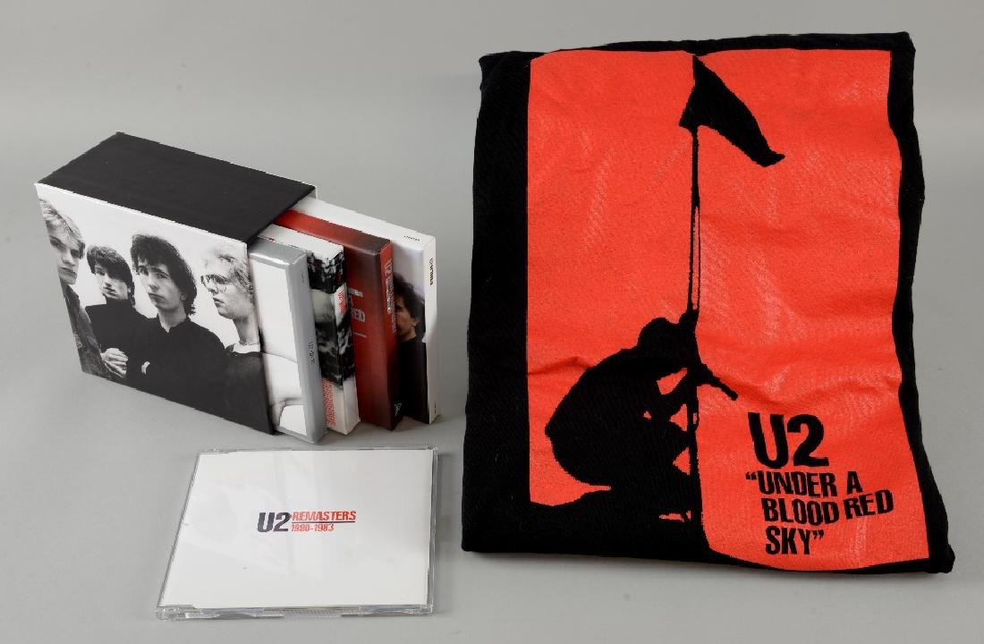 U2 First 3 albums remastered in presentation box with