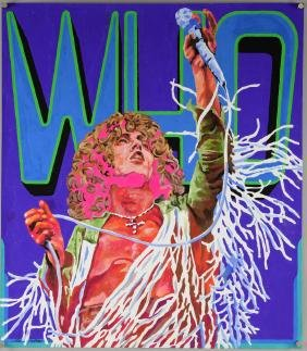 The Who - Roger Daltrey, Original poster artwork by