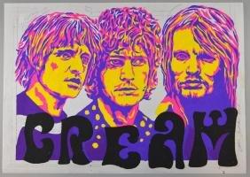 Cream - Original painted artwork by John Judkins,