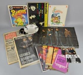 The Beatles - Memorabilia including a 1964 plate,