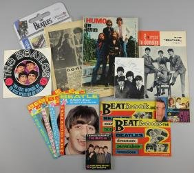 The Beatles - Collection of early memorabilia including
