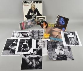 Madonna - Memorabilia including 'Blond Ambition World