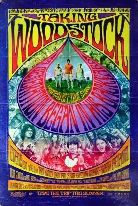 Taking Woodstock (2009) One sheet film poster, directed