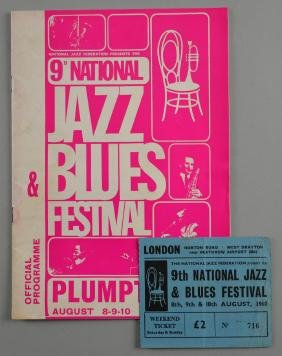 9th National Jazz & Blues Festival 1969, Official
