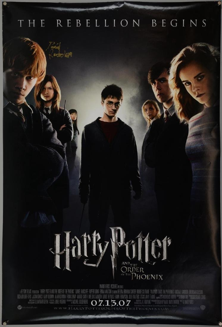 Harry Potter & the Order of the Phoenix - One Sheet