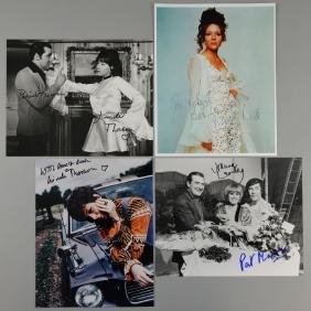 The Avengers - Four signed photos including Diana Rigg,
