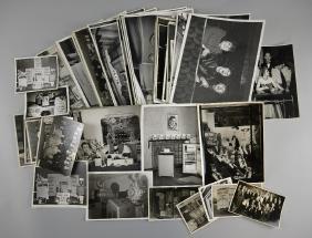 Cinema Memorabilia - 54 b/w photos of 1950's cinema