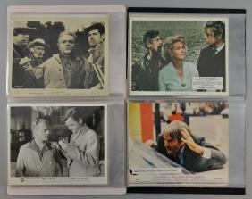 Approx 90 cinema stills/publicity photos, Errol Flynn,