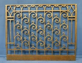Cinema - Pair of Art Deco radiator grills from The