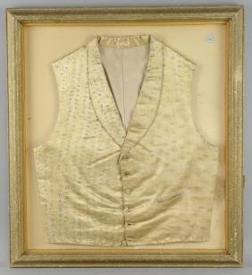 Boris Karloff - Personal waistcoat owned by the actor,