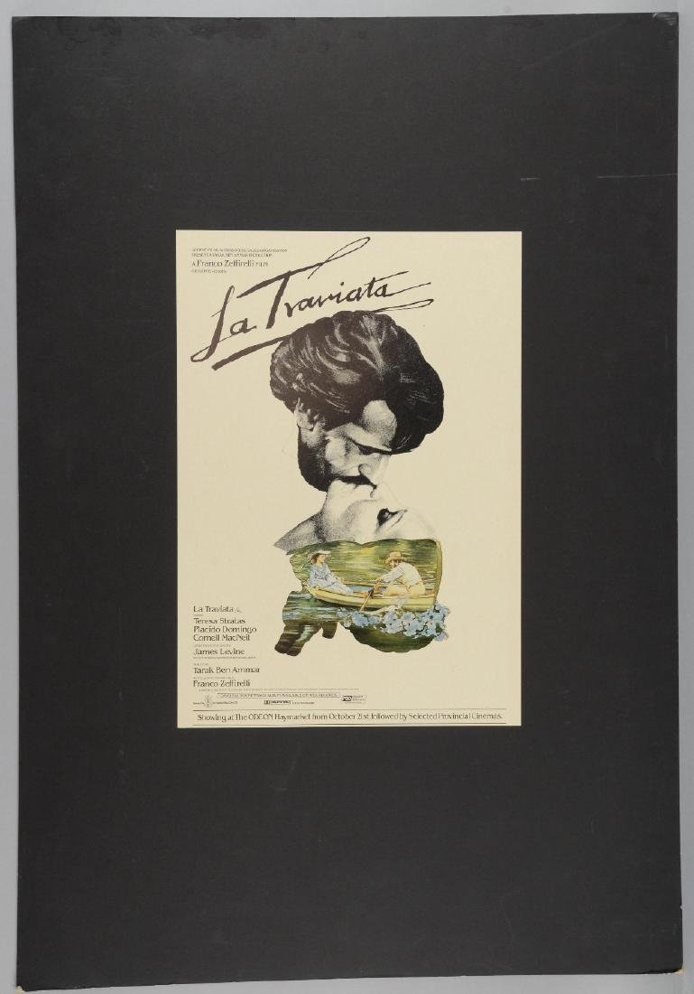 La Traviata (1982) original prototype painted artwork - 2