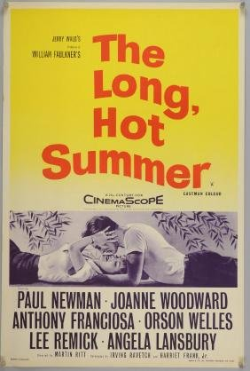 The Long Hot Summer (1958) English Double Crown film