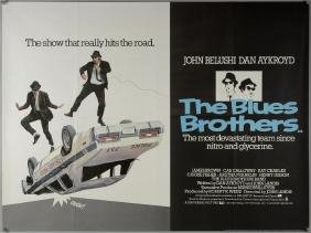 The Blues Brothers (1980) British Quad film poster,