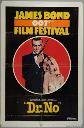 James Bond Festival (1970's) One Sheet film poster,