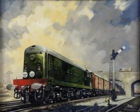 Leslie Carr (British, 20th Century) Oil on canvas