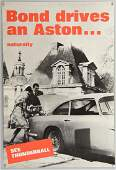 James Bond 'Bond Drives an Aston...Naturally'