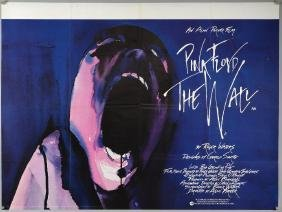 Pink Floyd The Wall (1982) British Quad film poster,