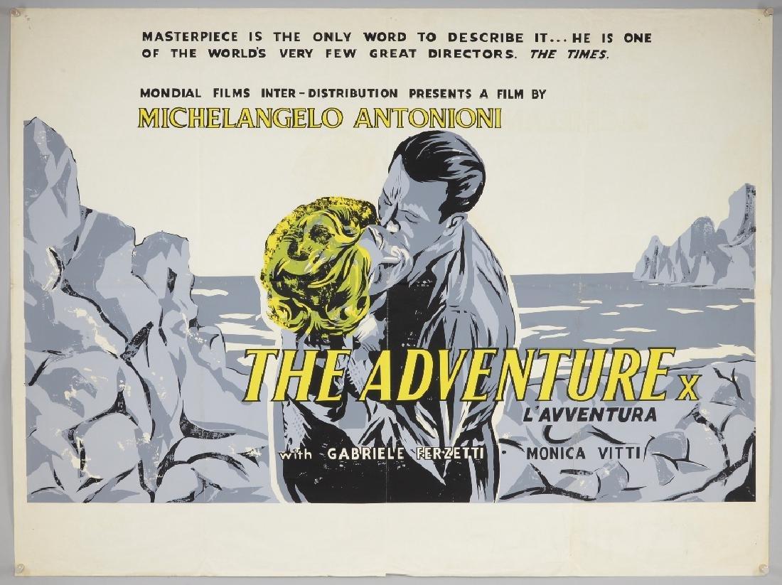 L'Avventura 'The Adventure' (1960) British Quad film