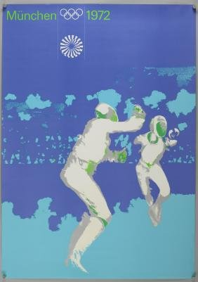 Olympic Interest - Otl Aicher (1922-1991) - Two posters