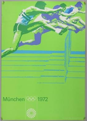 Olympic Interest - Otl Aicher (1922-1991) - Poster for