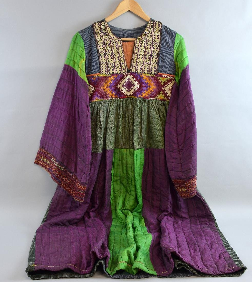 Indo-Asian style dress made up with orig