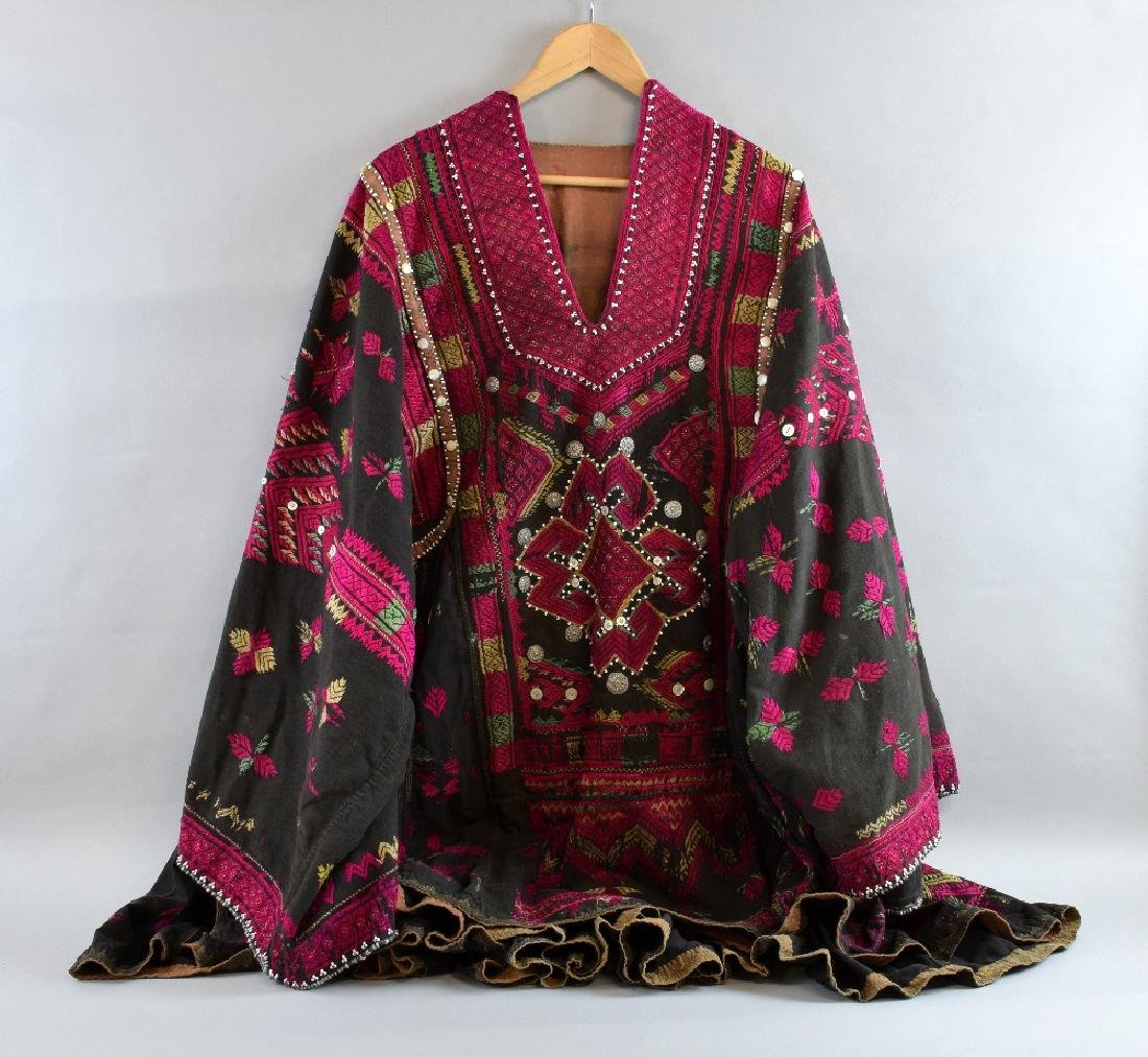Traditional embroidered dress, Swat vall