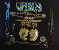 A group of Eastern nomadic  jewellery, i