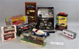 Collection of die cast and other collect