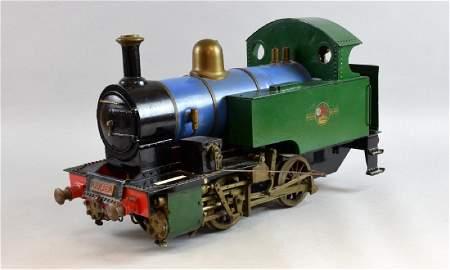 Scratch built live steam model 2-2-3 , 3
