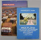 Pink Floyd  Two UK tour programmes  on